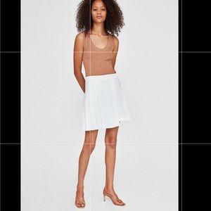 Zara | Pleated wrap skirt